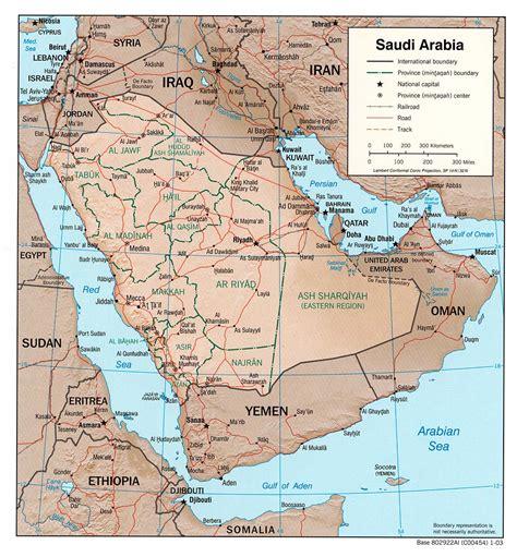 arabia map saudi arabia maps perry casta 241 eda map collection ut
