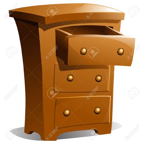 Free Drawers by Open Drawer Clipart