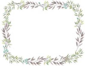 free printable flower border