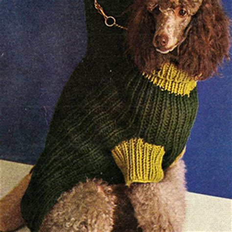 free knitting pattern for large dog coat knitted dog hats patterns free images