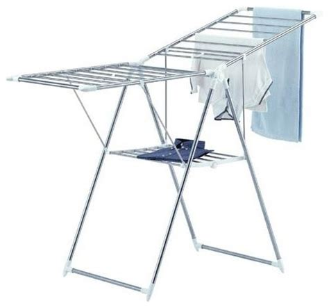 Stainless Steel Drying Rack Laundry by Collapsible Clothes Drying Rack In Stainless Steel