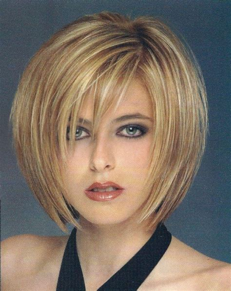 popular short layered bob hairstyles  fine hair