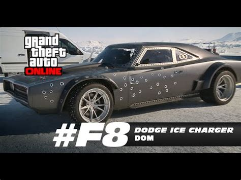 fast and furious 8 gta 5 gta 5 fast and furious 8 dodge charger car build youtube