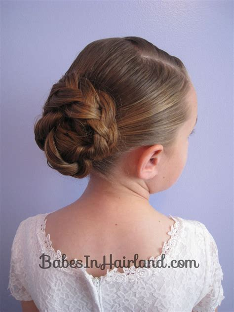updo hairstyles knotted braid braid knotted bun updo babes in hairland