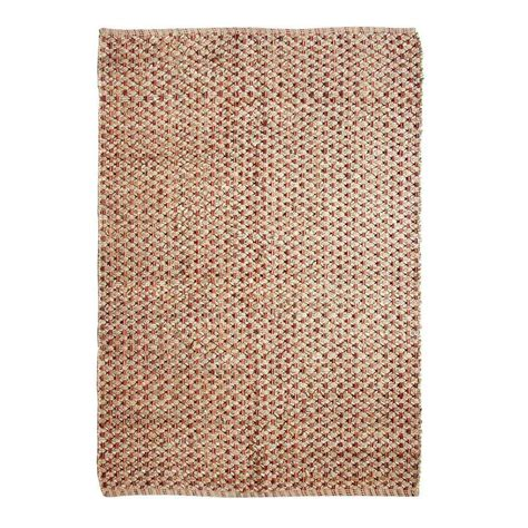 chesapeake rugs chesapeake merchandising criss cross spice 5 ft x 7 ft indoor area rug 46909 the home depot