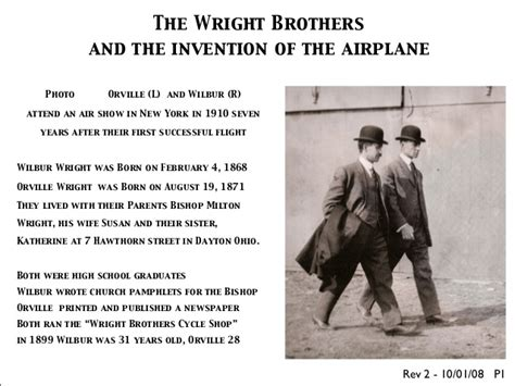 the wright brothers a history from beginning to end books wright brothers 1899 1909 rev4