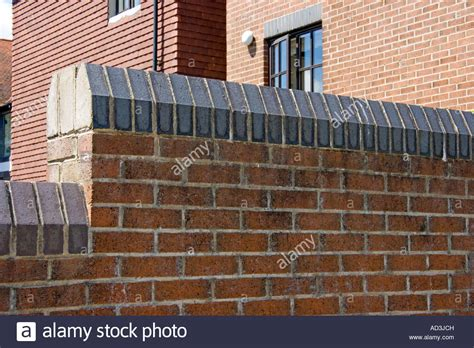 Decorative Brickwork Features by Soldier Course Of Bricks Used As Decorative Feature Along The Top Of Stock Photo Royalty Free