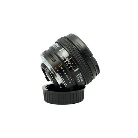Nikon Af 20mm F 2 8d Lens nikon af 20mm f 2 8d fx 紂irokokutni objektiv fiksne