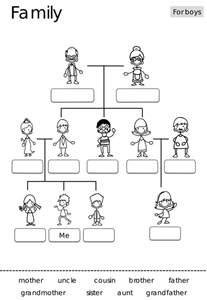 family tree template for kindergarten best 25 family tree worksheet ideas on family