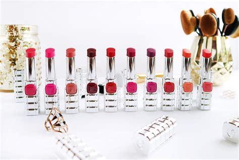 Review L Oreal Shine l oreal color riche shine lipsticks impressions