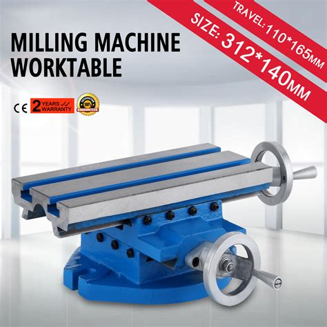 cross slide milling table 13x 6 milling machine cross slide worktable sliding