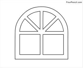 free color free coloring pages of window