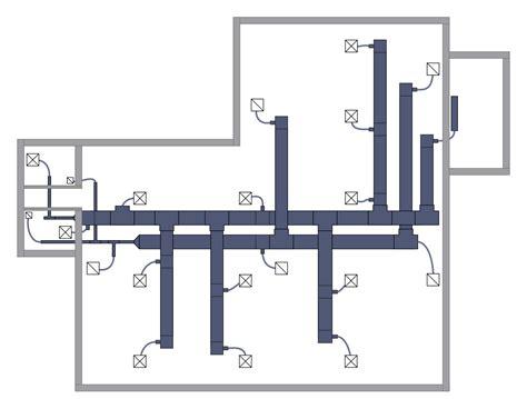 creating blueprints hvac plans solution conceptdraw com