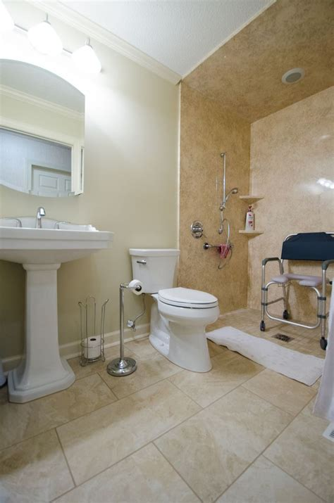 bathroom for wheelchair access handicap accessible