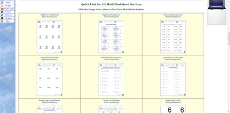 math worksheets grade 8 with answers homeshealth info
