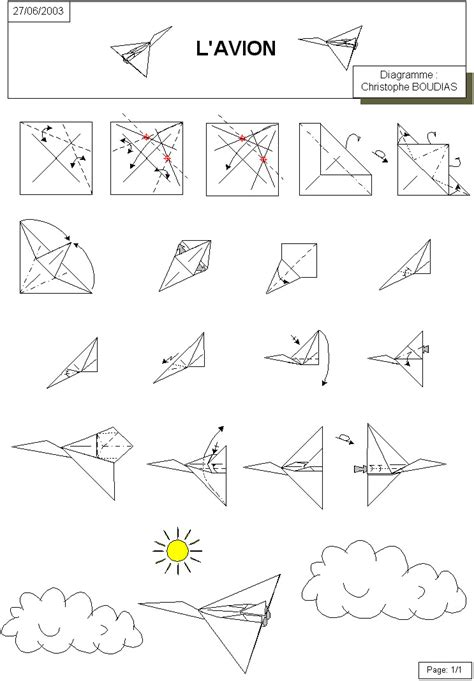 How To Make Origami Jet - paper airplane
