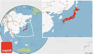 Japan On World Map by Japan World Map Images