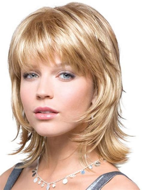 medium popular haircuts medium layered hairstyles with bangsfor 2017 meer dan