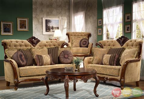 Antique Living Room Sets Traditional Living Room Set Dreena Traditional Formal Living Room Set Carved Cherry Sofa Set
