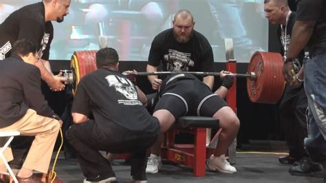 highest bench press ever jason coker shatters all time bench press record with 903