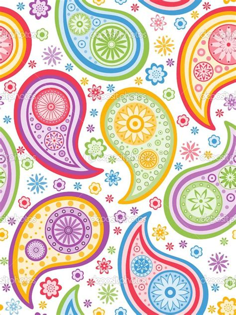 paisley pattern vector free paisley designs colorful seamless background with a