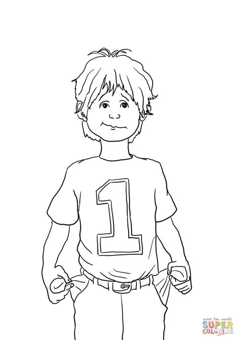 Alexander And The Terrible Horrible No Good Very Bad Day Coloring Pages No