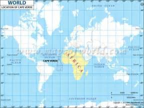 World Location Where Is Cape Verde Location Of Cape Verde