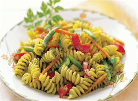 creamy pasta salad recipe the links site pasta salad with creamy herb dressing recipe dairy goodness