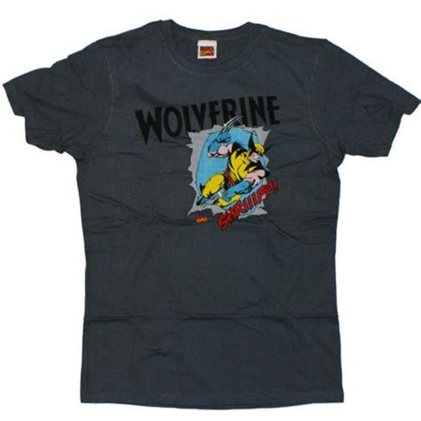 Tshirt X The Wolverine Roffico Cloth wolverine t shirts