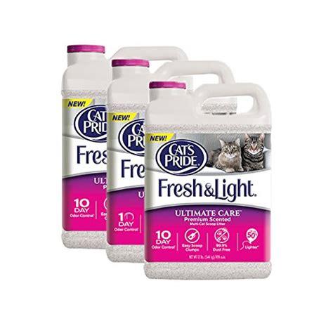 fresh and light cat litter cat s pride fresh light ultimate premium scented multi
