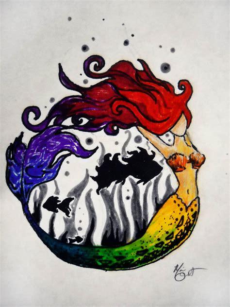 mermaid color wheel by the freak on deviantart