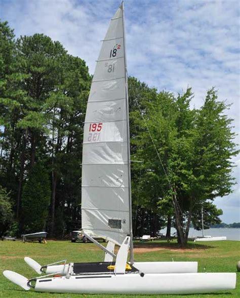 lake norman sailboat rental nacra 18 1982 lake norman north carolina sailboat for