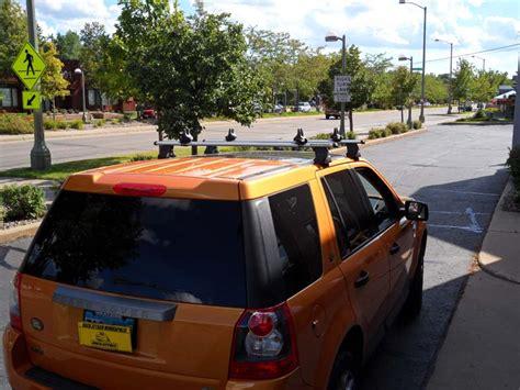 2008 lr2 roof rack land rover lr2 roof rack w paddle board carrier