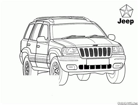jeep coloring pages coloring page jeep grand