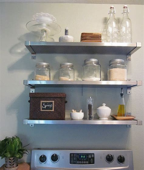 ikea kitchen canisters kitchen floating shelves design ideas
