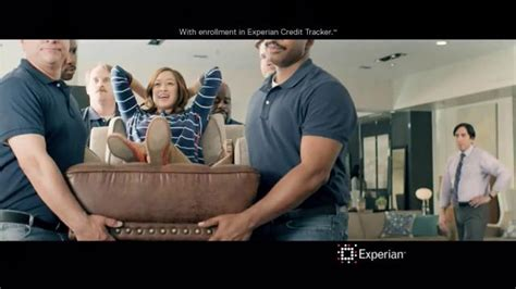 experian commercial actresses experian tv commercial credit swagger furniture
