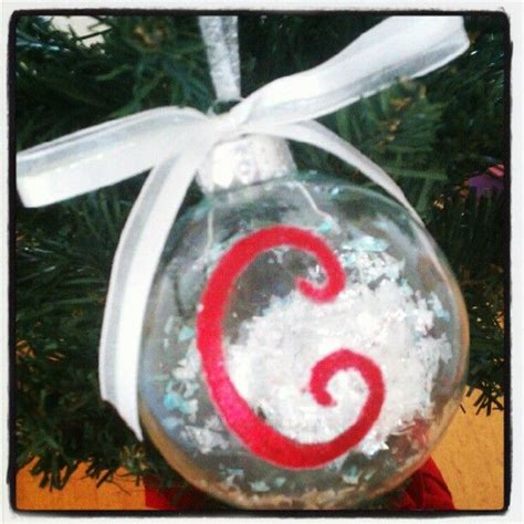 16 best photos of diy personalized ornaments diy