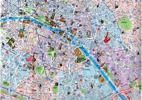 tourist map of central maps update 21051488 map of central tourist