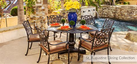 Backyard Creations Augustine Collection Browse Outdoor Furniture Browse Outdoor Categories