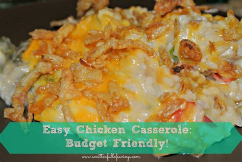 easy chicken recipes eyc chicken casserole recipe quick to make easy on the