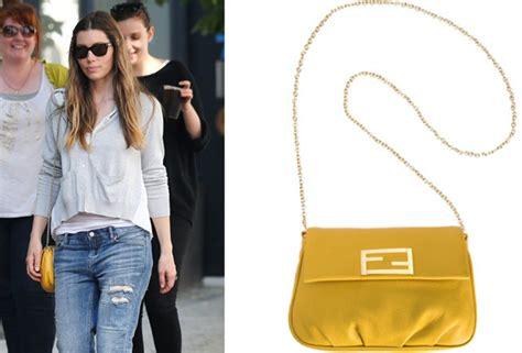 Name That Purse Biel by Jessica Biel Fendi Bag Snob Essentials