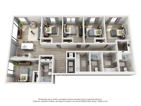 5 bedroom apartment floor plans pictures house