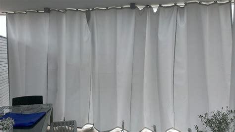 Balkon Vorhang Sonnenschutz by Vorhang Balkon Aussen Home Image Ideen