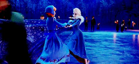 1634 Cocoice Frozen and elsa skating gif frozen skate gif elsa and frozen 2013
