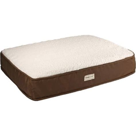therapeutic dog beds poochplanet tendercare therapeutic foam pet bed small