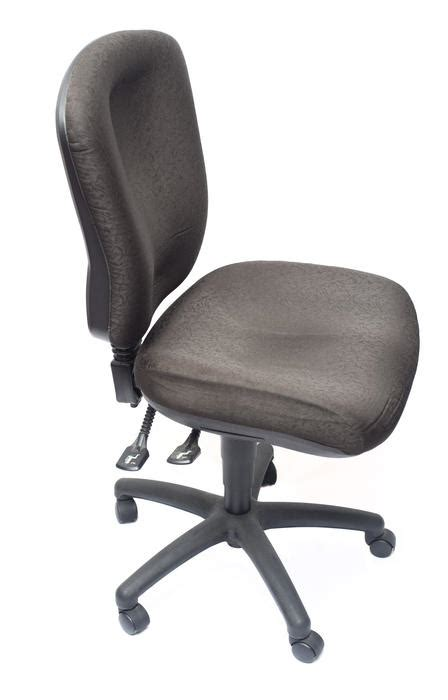 stock photo  comfortable black office chair freeimageslive