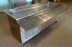 Commercial Buffet Tables Commercial H D Tafco Ss Refrigerated Cold Food Salad Bar