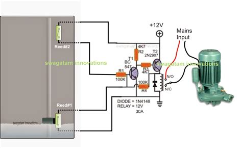 single phase submersible wiring diagram submersible
