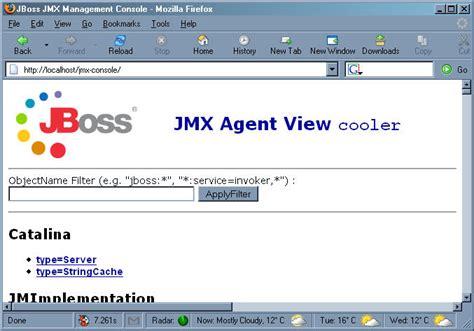 jmx console mod jk en windowsxp iss jboss adictosaltrabajo