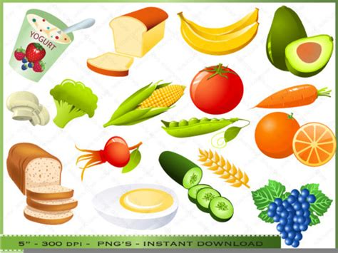 food clipart healthy food clipart images free images at clker